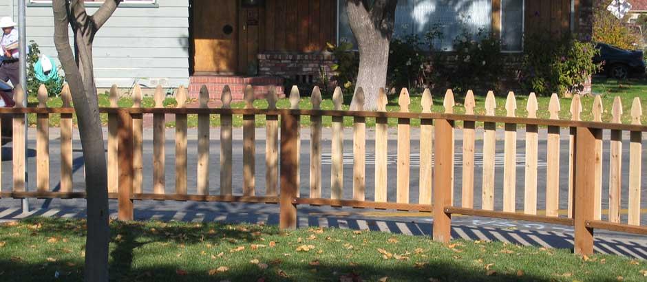 Picket Fences Fence Installation Salinas San Jose